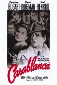 Filmposter van de film Casablanca (1942)