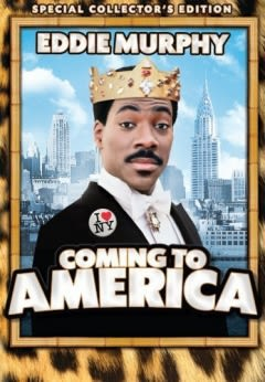 Filmposter van de film Coming to America