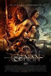 Filmposter van de film Conan the Barbarian (2011)