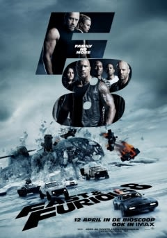 Filmposter van de film Fast & Furious 8 (2017)