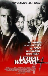 Filmposter van de film Lethal Weapon 4