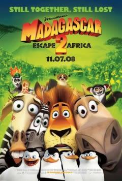 Filmposter van de film Madagascar: Escape 2 Africa