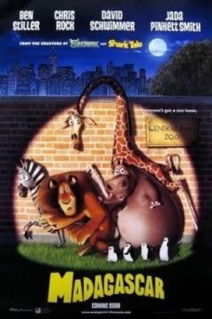 Filmposter van Madagascar