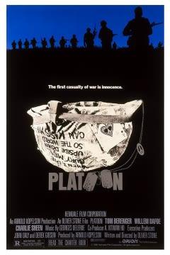 Filmposter van de film Platoon (1986)