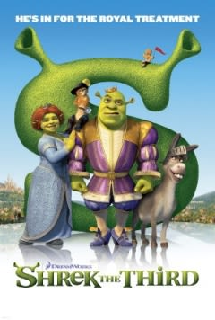 Filmposter van de film Shrek the Third