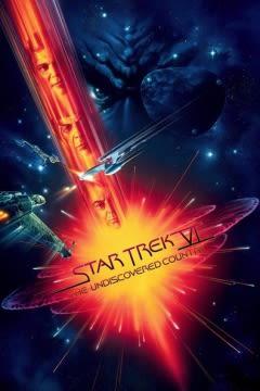 Filmposter van de film Star Trek VI: The Undiscovered Country