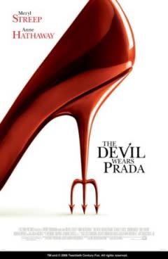 Filmposter van de film The Devil Wears Prada