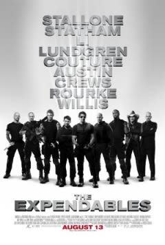 Filmposter van de film The Expendables (2010)