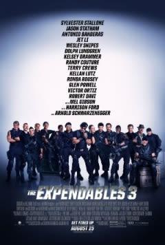 Filmposter van de film The Expendables 3 (2014)