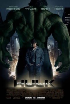 Filmposter van de film The Incredible Hulk