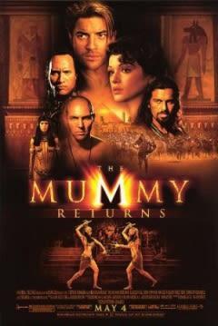 Filmposter van de film The Mummy Returns (2001)