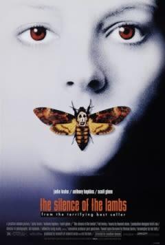 Filmposter van de film The Silence of the Lambs (1991)