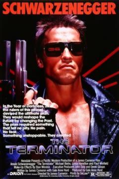 Filmposter van de film The Terminator (1984)