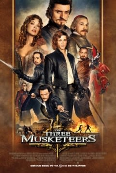 Filmposter van de film The Three Musketeers