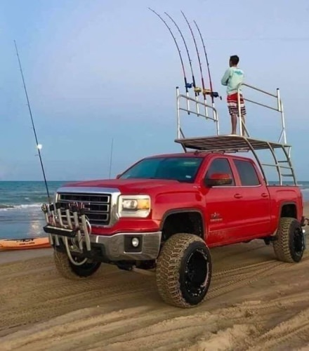 Who wants one? This is a serious surf fishing rig.  #Fishing #FinandField