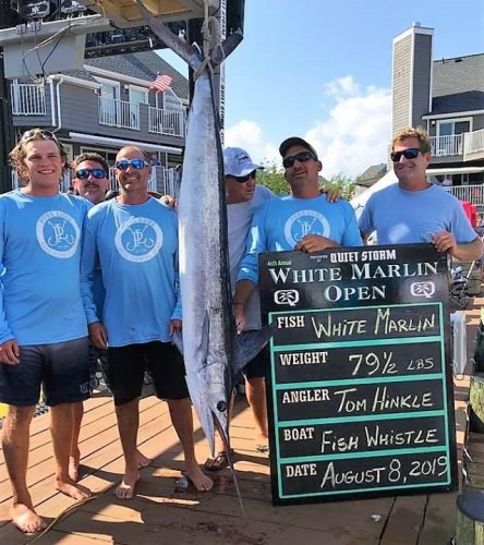 Final Day of the White Marlin Open. A new white marlin leader was put up yesterday. 248 boats are fishing today so there could be more leader board changes. Head down to the scales or watch it LIVE on the MarlinCam at www.whitemarlinopen.com. Fish Whistle - 79.5# 1st Place White Marlin $1.46 Million Chasin Tail - 74# 1st Place White Marlin $135,000 Backlash - 73.5# 2nd Place White Marlin $1.5 Million Haulin n Ballin- 465.5# 1st Place Blue Marlin $740,000  Crisdel - 201# 1st Place Tuna $940,000 Polarizer - 277# Biggest Fish - Mako Shark $225,000 Game Changers - 35.5# 1st Place Dolphin $18,000 Right Hook - 28.5# 1st Place Small Boat Dolphin $75,000