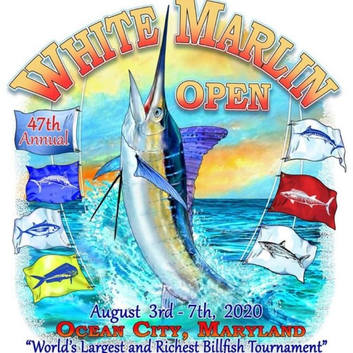 The White Marlin Open is a GO. August 3-7 in Ocean City, Maryland. #WMO #Fishing #OCMD #FinandField