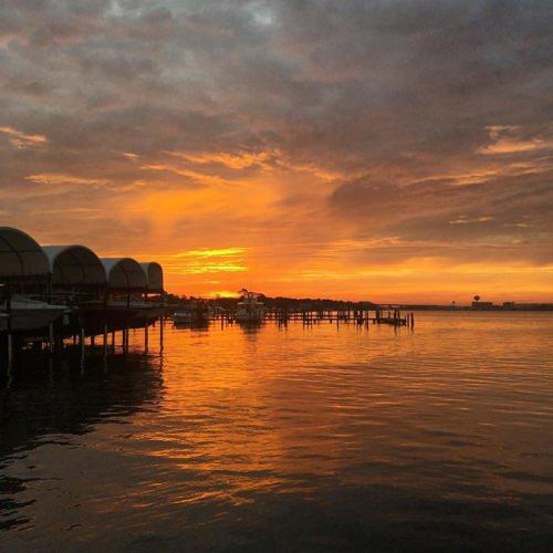 Just another perk of the job!! . . . #sunrise #destinflorida #vacation #fishing #charters #panhandlefishingcharters