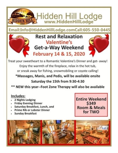 ❤️We were full before we got the flyers out last year! ❤️We have some openings at this time so call now if you love your Spouse!♥️ MANICURES, PEDICURES, MASSAGES, and new this year, FOOT THERAPY offered on site! ❤️♥️