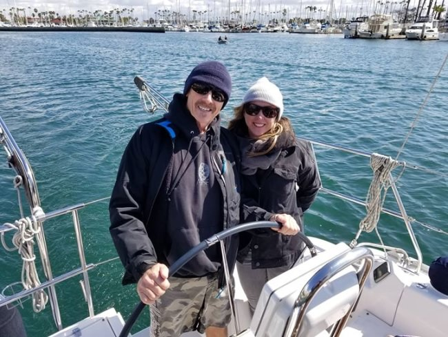 Congrats to the happy new owners of the Catalina 315!