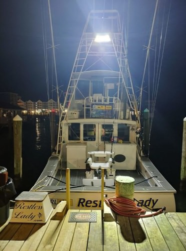 Restless Lady Charters is rigged and ready to GO! #Fishing #OC #Maryland #FinandField