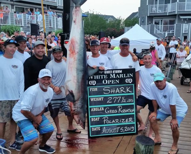 Polarizer's Mako Shark took biggest fish category.