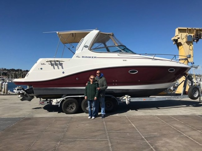 SOLD! This Rinker 28 is ready for many adventures! Congrats to the new owners!