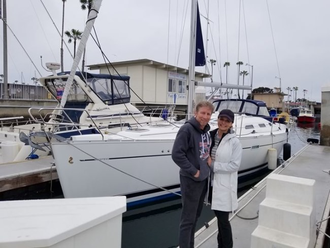 This couple just listed their Beneteau 393 with Sales Agent Tim Hagan, and they've got a deal on her already!