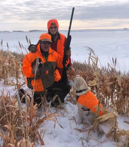 A Great Day of Hunting at HHL, followed by a Frontier Christmas at Historical Fort Sisseton, then back to  HHL for Steak and Lobster! Memories That Will Last a Lifetime!