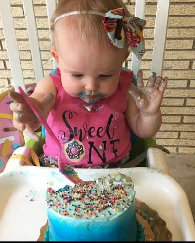 Daddy's princess turned 1 today! My how time flies!!!  . . . #baby #babyem #futurefisherwoman #daddysgirls #panhandlefishingcharters