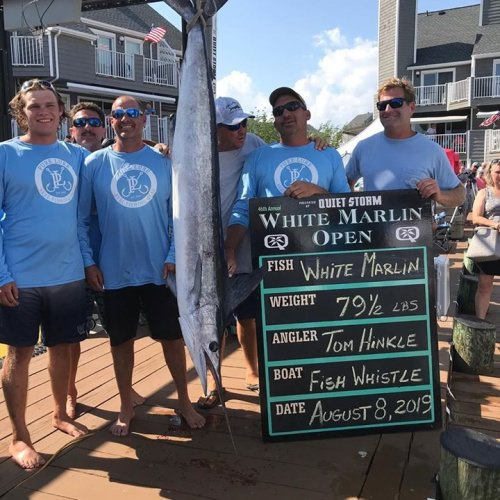 2019 #WMO Winner Tom Hinkle! Only repeat winner in the history of White Marlin Open.
