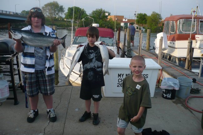 Lets bring the family to catch the fish. Its time to do something together. We got some openings so give us a call 269 506 3513