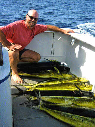 Pacific Venture Charter Service: 3/4 Offshore Fishing Trip