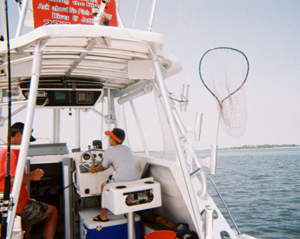 Fishtown Charters: Half day party of 4