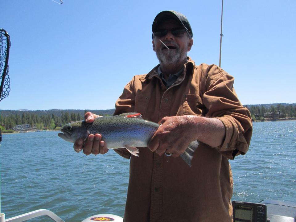 Cantrell Guide Service: Rainbow Fishing Trip