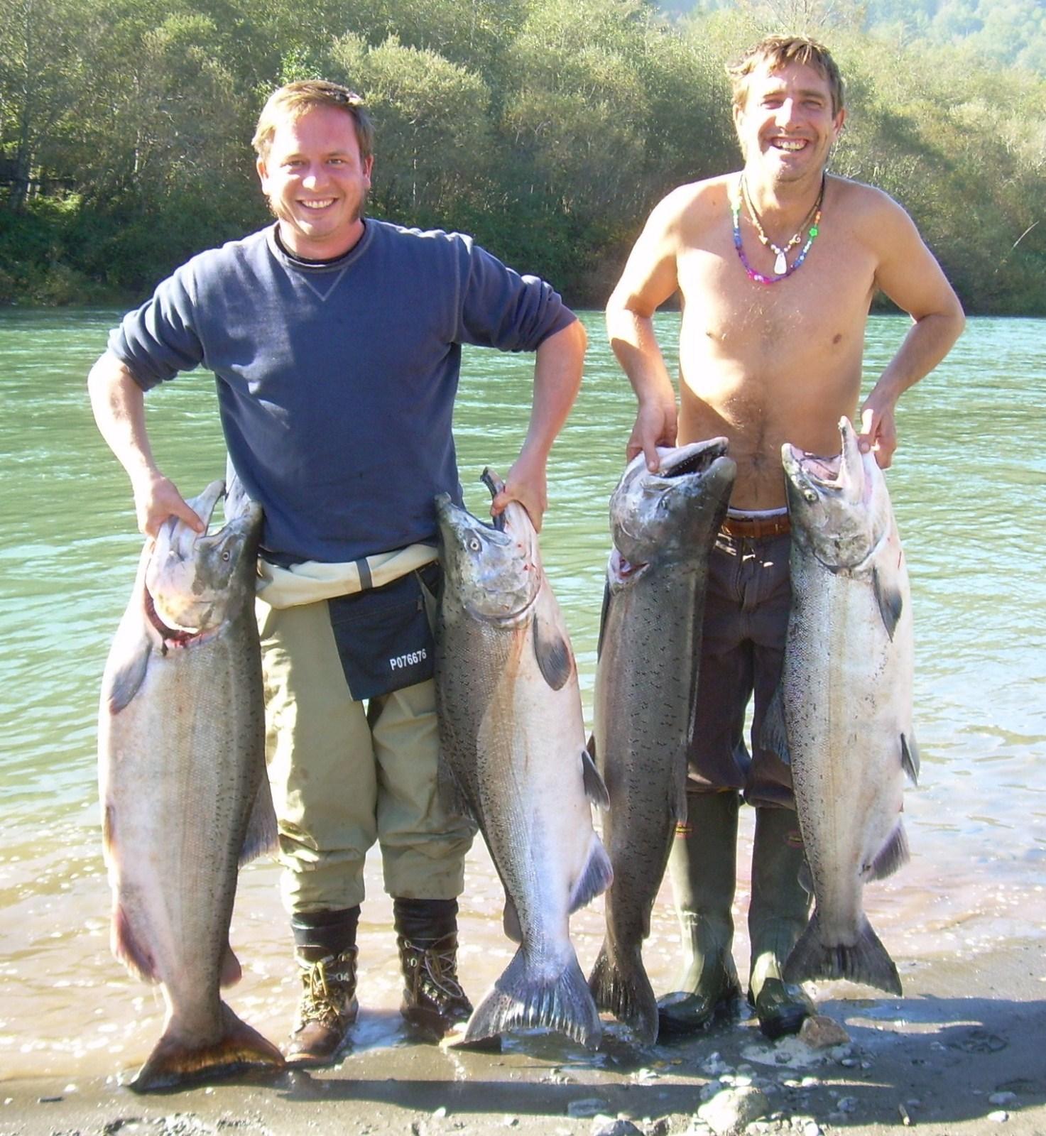 Harold Hanson Fishing: ELK SIXES AND CHETCO TRIP