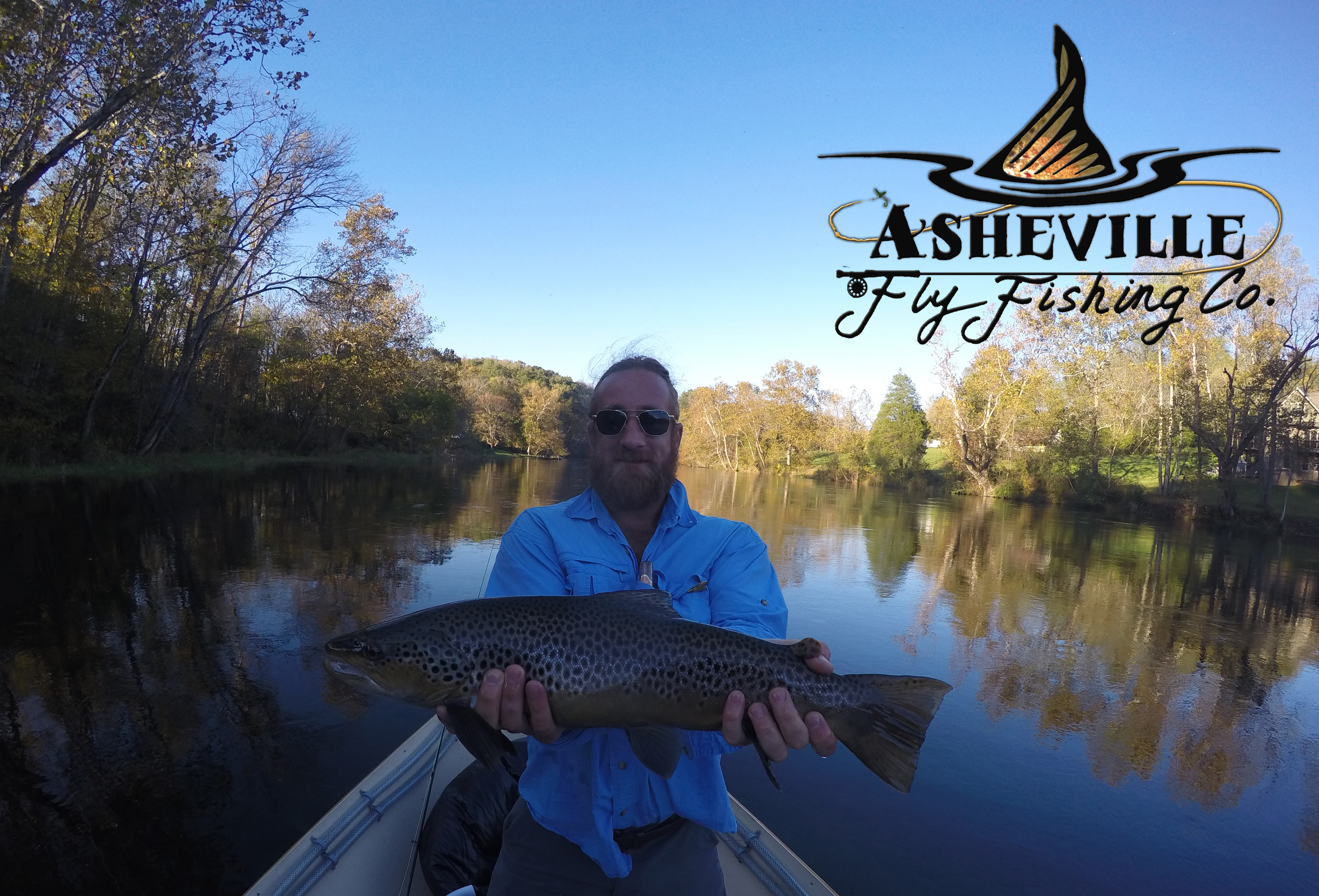 Asheville Fly Fishing Company: Full Day Float Trout