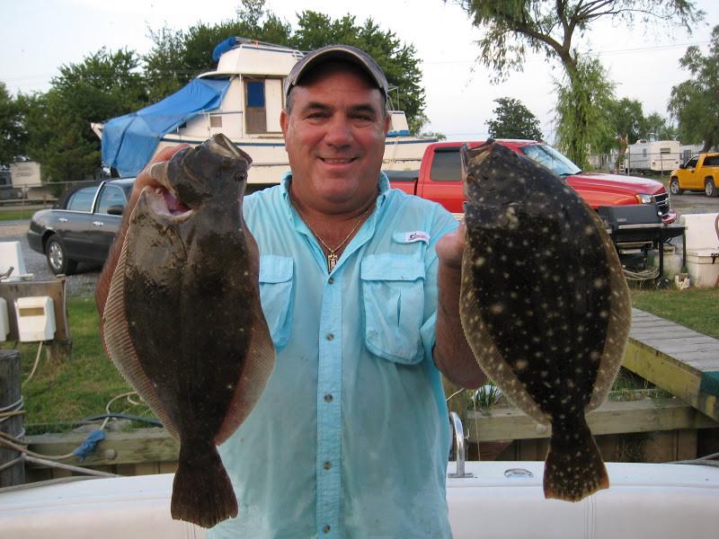 Chesapeake Adventures: Evening Bottom Fishing