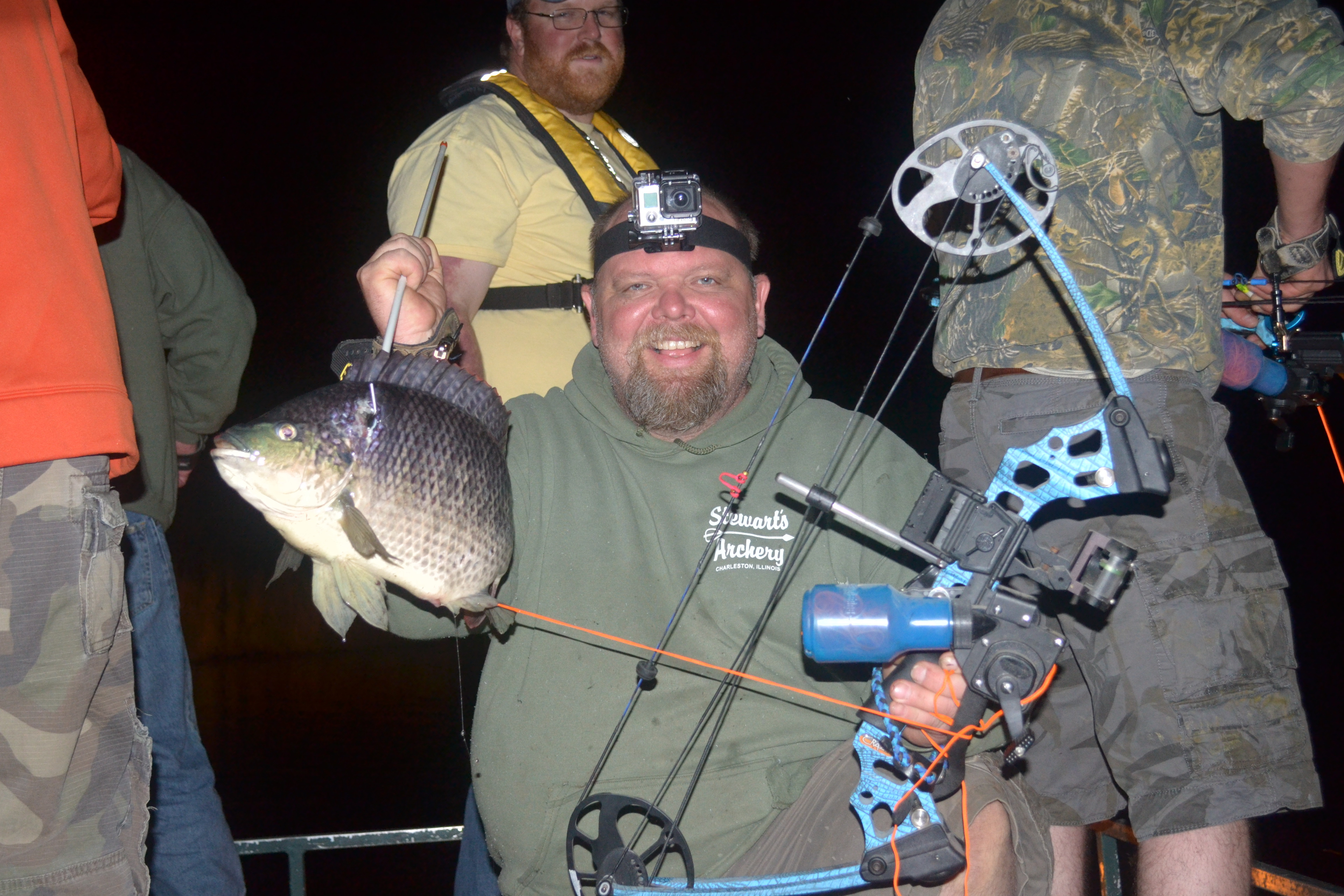 Airboat & Gator Charters:  Day Bowfishing Charter