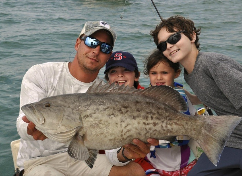 Ms. B. Haven Fishing Charters: Half-day