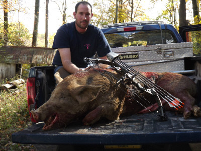 Liberty Hollow Whitetail Hunts: Cross Hog Hunts