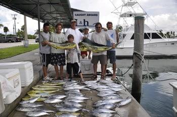L & H Sport Fishing: Blacktip H Full Day Trip