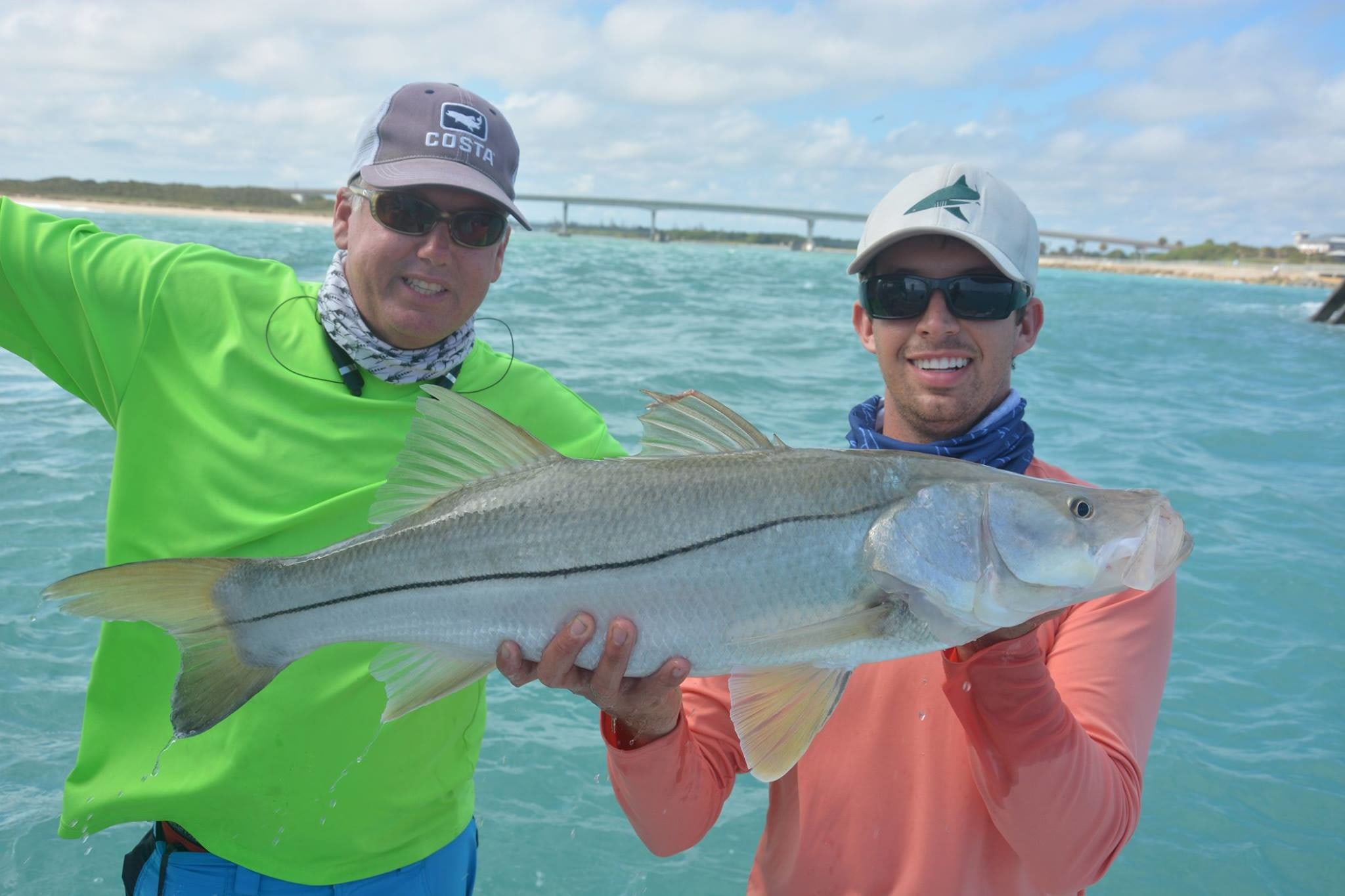 Going Coastal Fishing Charters: Blacktip H Series 1/2 Day Inshore