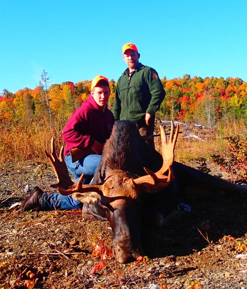 Maine Trophy Outfitters: Moose Hunt