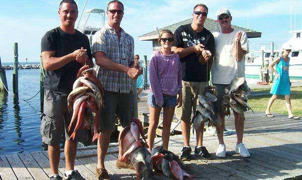 Miss Hatteras Head Boats: Full Day Fishing off Hatteras