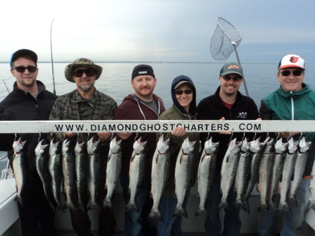 Diamond Ghost Charters: Weekends & Holidays (Party of 6) Friday, Saturday, Sunday