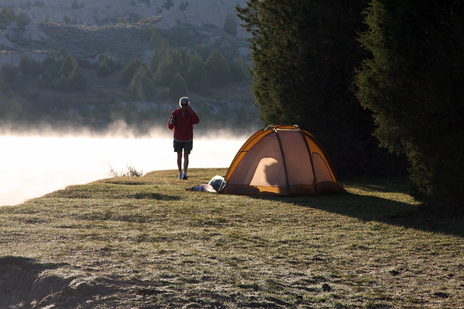 Wapiti Waters Fly Fishing Montana With Jack C. Mauer: Camping options