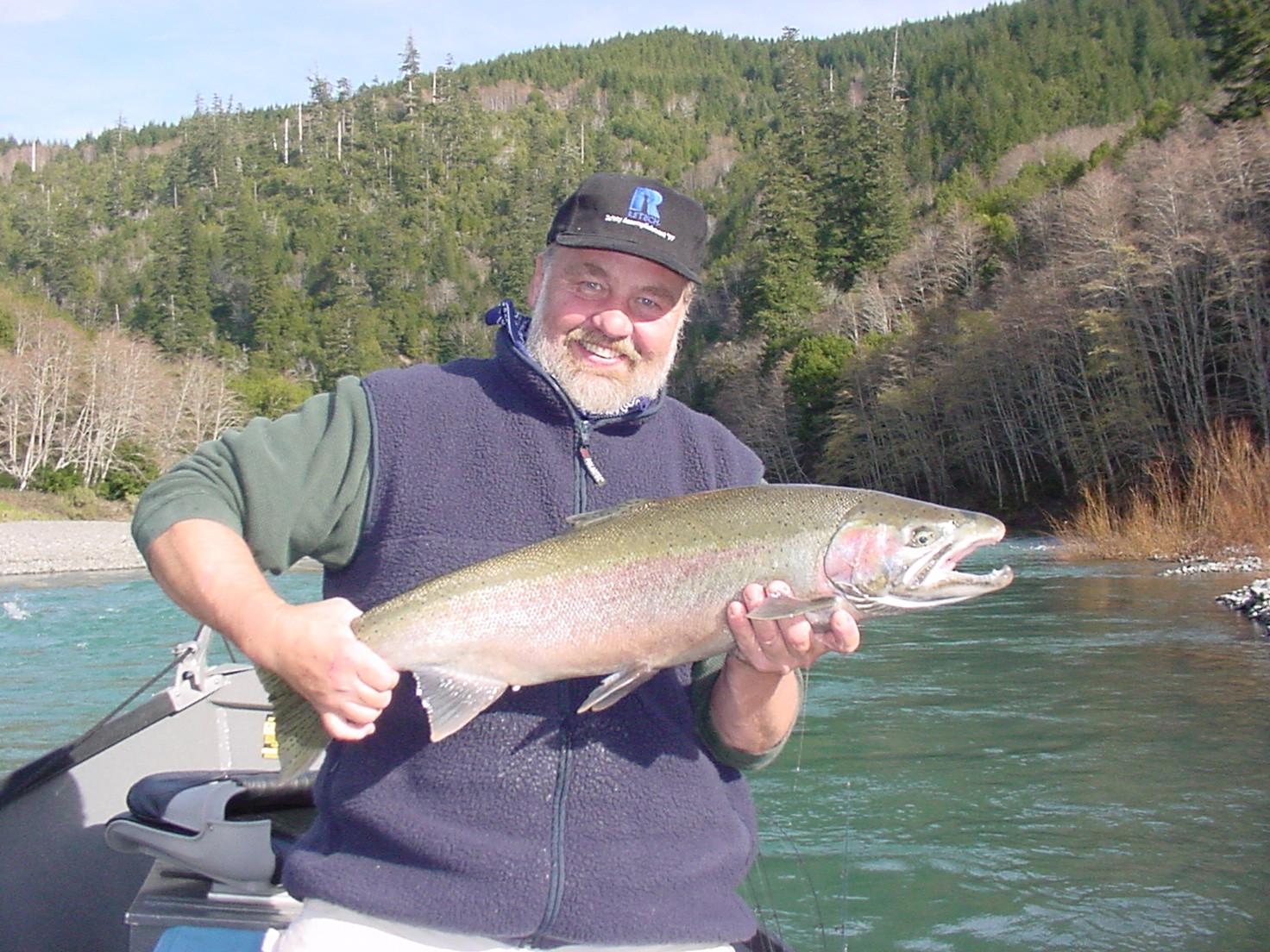 Ken Cunningham Guide Service: Jet Boat - Salmon & Steelhead