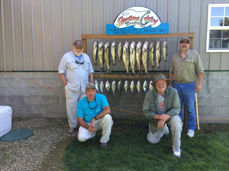 Something Catchy Charters: Walleye Trolling Charter