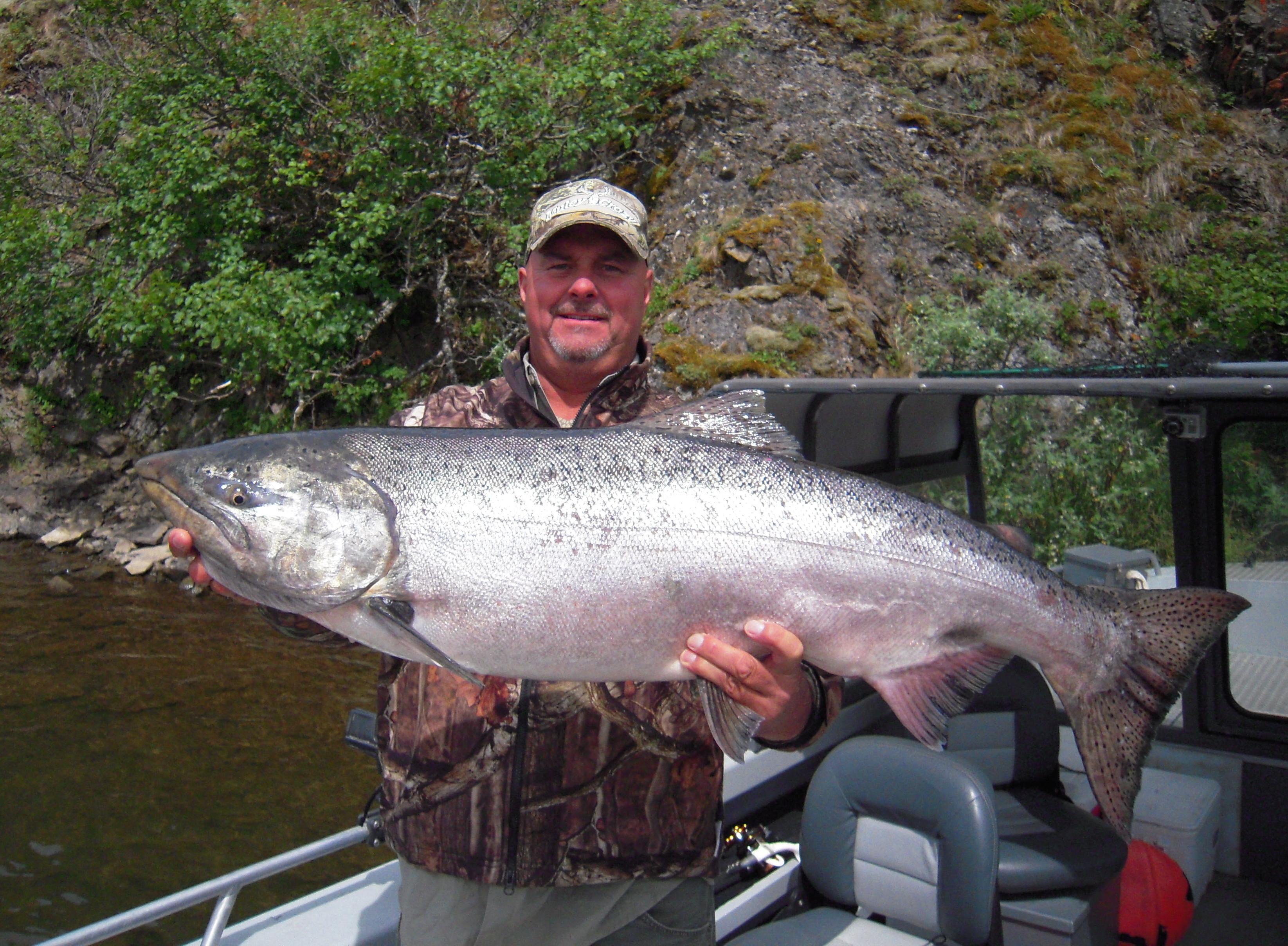 Chignik Bay Adventures: King Salmon Fishing